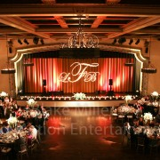 San Diego Wedding Gobo Monogram Projection Image (22)