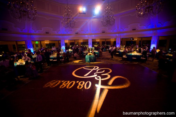 San Diego Wedding Gobo Monogram Projection Image (21)
