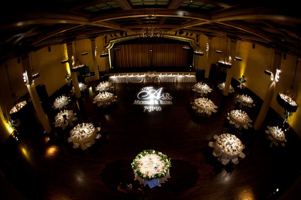 San Diego Wedding Gobo Monogram Projection Image (9)