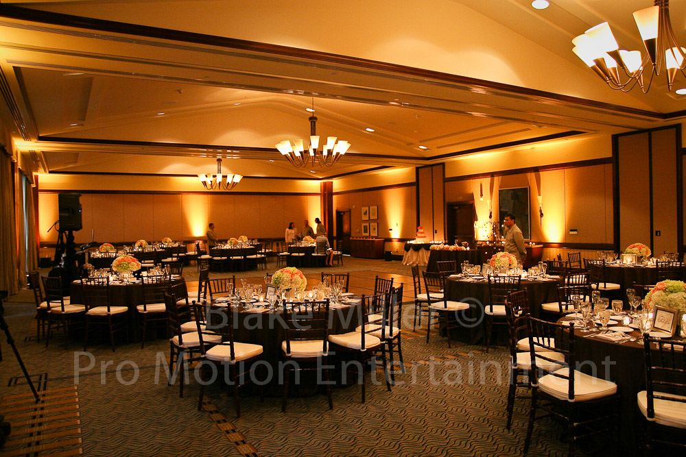 wedding and event uplighting dj uplighting san diego