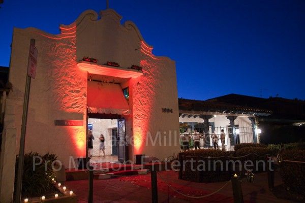 San Diego Wedding Uplighting Image (4)