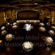 Can a Gobo Monogram be Moved mid-event?