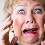 Screaming Grandma listening to explicit lyrics