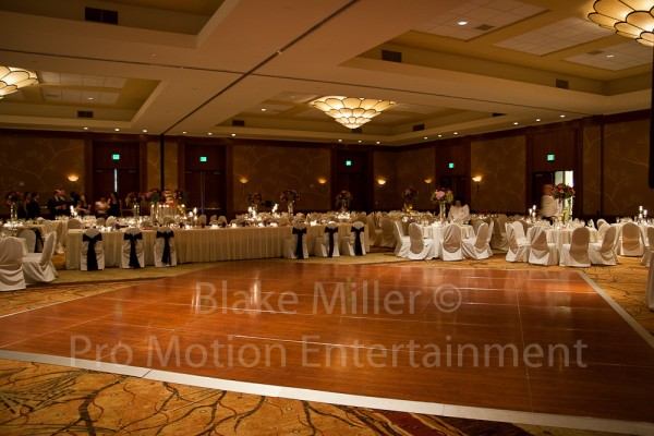 Big Wedding Reception at Hilton Torrey Pines