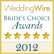 Wedding Wire 2012 Bride's Choice Award Winner