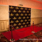 Step & Repeat Banner for DJ Senar