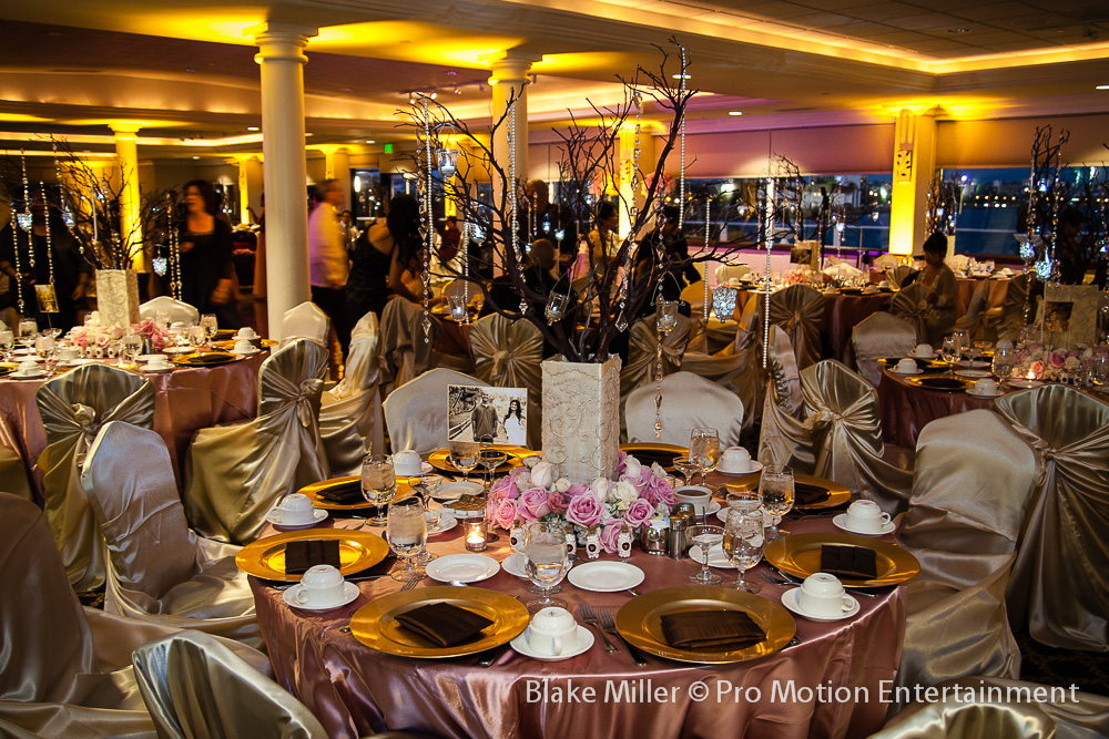 beautiful tables linens uplighting and some purple wash lighting beautiful color table uplighting