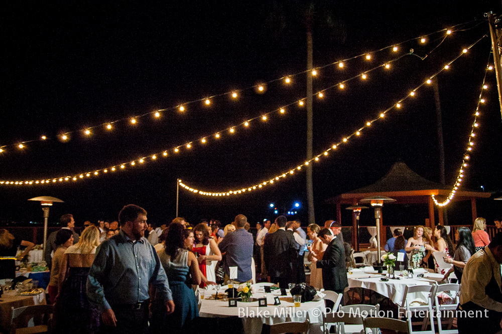 Market Lights At Point Loma Oceanview Wedding San Go Lighting