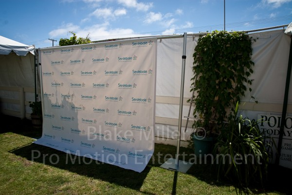 Step and Repeat Banner Installation Image (5)