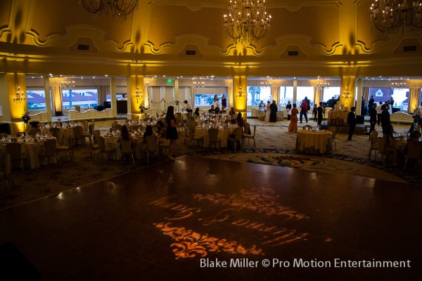 Hotel Del Coronado Wedding Lighting (9)