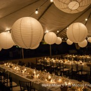 Katie & Sean's La Jolla Shores Hotel Beach Wedding Lighting