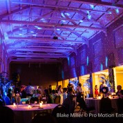 Long & Julie's NTC McMillin Event Center Wedding Lighting