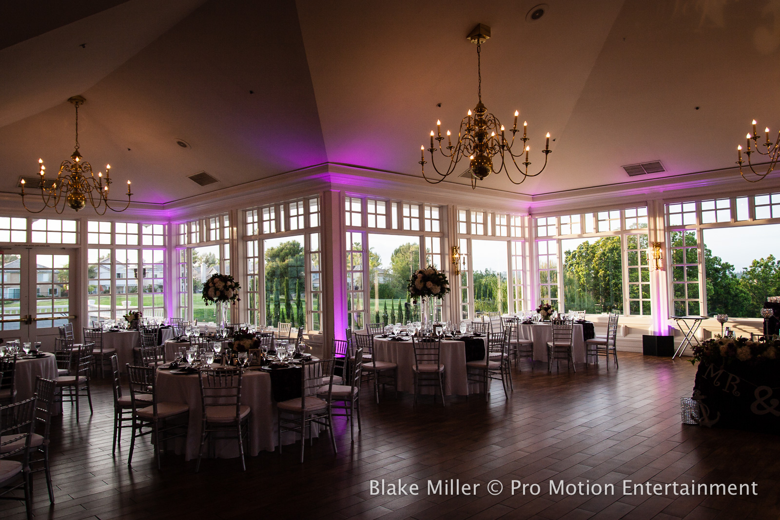 Carmel Mountain Ranch Wedding Dj Lighting Decor