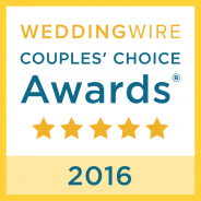 WeddingWire Couples' Choice 2016 Award Winner